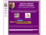 Dianne Nichol's People Reading Site, Face Reading, Handwriting Analysis 