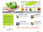 Pépinières de Kerzarc'h | Pépiniériste du Morbihan, Bretagne | Accueil