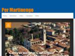 Sito della Lista Civica Per Martinengo