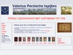 Perzisch tapijt Den Haag, Valerius, Ziegler tapijt Den Haag, Oosters tapijt Den Haag