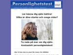 Gratis personlighetstest testa dig själv