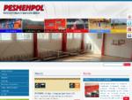 PESMENPOL - výrobca športových potrieb, športové potreby