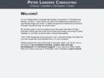 Peter Landers - Home