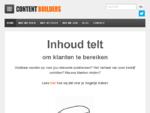 Contentbuilders 124; bouwers van content