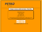 Prodaja in dostava naftnih derivatov-Petro Plus