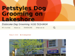 Pet Styles on Lakeshore Dog Grooming service for all dogs. 416-503-0434