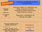 Paulo Ferreira - Construção, Remodelação e Manutenção de Todo o Tipo de Soalhos