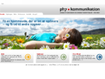 ph7 kommunikation - Grafisk design af hjemmesider og tryksager