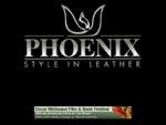 Δερματινα ρουχα, δερμάτινα ενδυματα, Phoenix Leather
