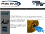 Phone service - Τηλεφωνικά κέντρα Panasonic