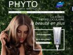 PHYTO - La Puissance Végétale. Shampooings et après-shampoings, soins de beauté et coiffants, soi