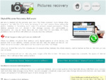 Pictures recovery software recover deleted digital photo erased memory card images undelete