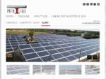 Serre agricole fotovoltaiche pensiline parcheggi fotovoltaici