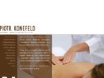 Piotr Konefeld - terapia manualna, gabinet masażu, drenaż limfatyczny i masaże - Wrocław
