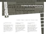 Fundacja Ulicy Piotrkowskiej