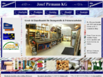 Möbelstoffe, Kunstleder, Echtleder, Polstermaterial, Vorhangstoffe, PIRMANN WIEN