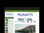 Trattori nuovi e usati PIUMATTI - Concessionario trattori deutz-fahr, carraro, vgel noot, jf - ...