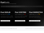 Pixel Studio (Pixel Dizajn i Pixel Hosting). Profesionalna izrada web sajtova, aplikacija, web ho