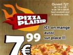 PIZZERIA PIZZA PLAISIR BURGER WRAP KEBAB VALIBOUT(78370)