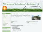 PKN gemeente 'de Hoeksteen' - Benthuizen - PKN gemeente 'de Hoeksteen' - Benthuizen
