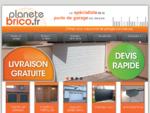 Accueil - Planete Brico votre spécialiste de la porte de garage sectionnelle sur internet