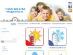 Planray OÜ - soojuspumbad, konditsioneerid, ventilatsioon, keskustolmuimurid