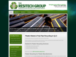 Plastic Waste Recycling Polypipe Plastic Recyling Australia into Reusable Plastic Resins Plastic She