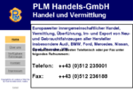PLM Handels-GmbH - Verkauf und Vermittlung