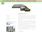 Plokštuminiai pamatai - energija taupančių namų statybos technologija