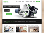 Festool's Premier Plunge Cut Saw Information Site. Understanding Plunge Cut 	Saws and Guide Rails.