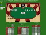 Logiciel tournoi de Poker online calcul des jetons, des blinds, chronomètre