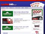 Poker - Poker Info - informacyjny portal pokerowy, poker gra, poker zasady gry, darmowe gry poker
