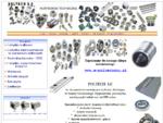 Technika Liniowa CNC Śruby Kulowe Akcesoria CNC Łożyska Łożyska w obudowach prowadnice precyzyjne,