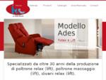 Prodotti sanitari, poltrone relax e poltrone alzapersona - POLTRONIFICIO R. C. s. r. l.