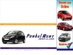 PombalRent - Rent-a-Car, Lda. - Pombal