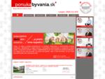 Realitné, finančné a právne služby predaj kúpa bytov a domov