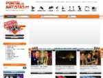 Portal de Artistas - Todos os artistas num só palco!