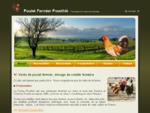 Poulet fermier Pourthie, Elevage de poulet fermier, volailles fermieres, pintade et lapin dans ...