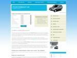 Požičovne áut, Autopožičovne, Požičanie auta, Zoznam autopožičovní