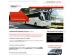 Autobusová doprava, mezinárodní autobusová doprava Pragotour - autobusy a minibusy všech kategorií