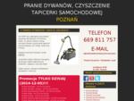 Pranie dywanów, sprzątanie biur, domów i mieszkań - Poznań