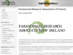 The Paranormal Research Association of Ireland