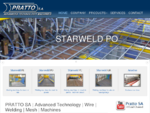 PRATTO SA | Wire | Welding | Mesh | Machines
