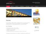 Precise Prefabs | Home-Roof Trusses, Floor Trusses Wall Frames