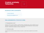Úradné Preklady Taliančina - Prešov