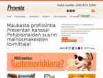 Mainosmakeisia, mainoslahjoja liikelahjoja » Presenta. fi