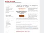 Prestiti Personali e Mutui Online - in sole 24 ore