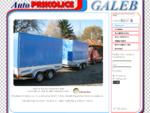 Auto Prikolice GALEB - Car Trailers GALEB - Naslovna