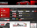Prince - felgi OZ, akcesoria SPARCO OMP EIBACH