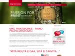 KMG Printworks | Painotalo, digipaino, Turku | Laatua nopeasti kaikkialle
